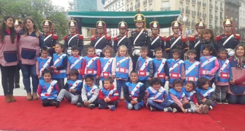 Chicos de Sierra Chica realizaron un recorrido sanmartiniano por Buenos Aires