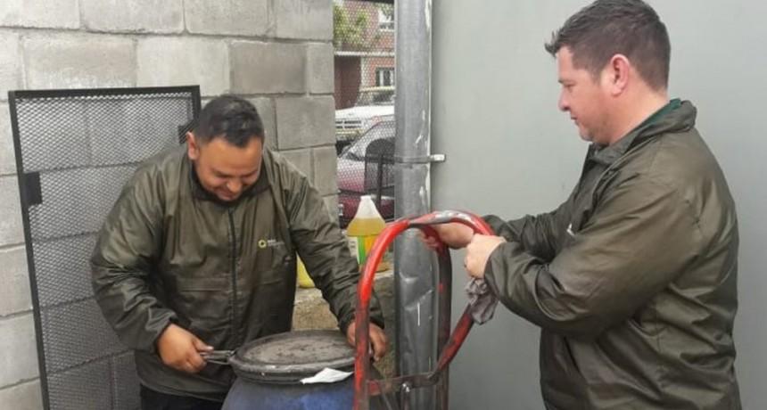 Convocan a comercios generadores de Aceite Vegetal Usado a adherirse al Plan BIO