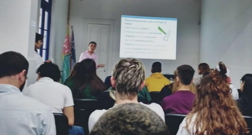 Los concejales estudiantiles participaron de un Taller de Oralidad