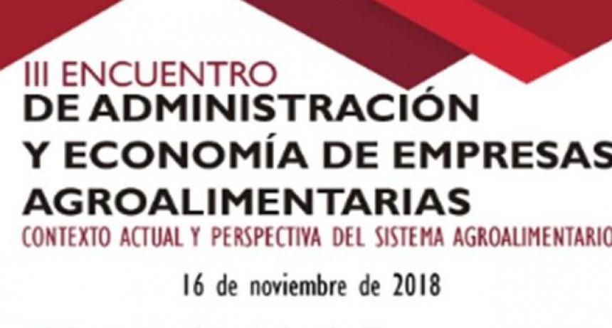Azul: Tercer  encuentro de administración y economía de empresas agroalimentarias