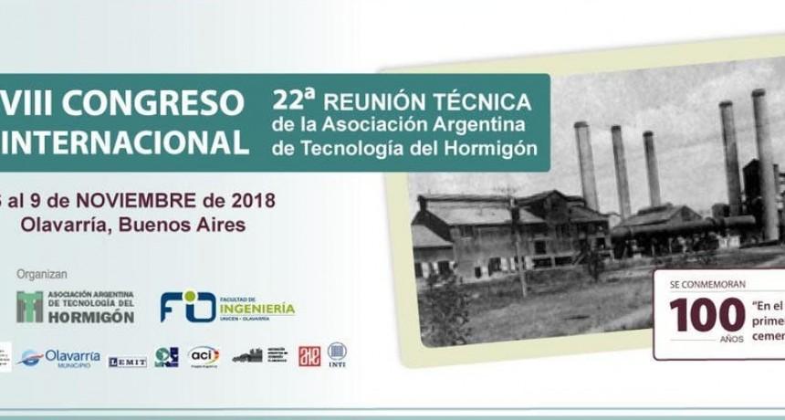 Congreso Internacional sobre Hormigón en Olavarría