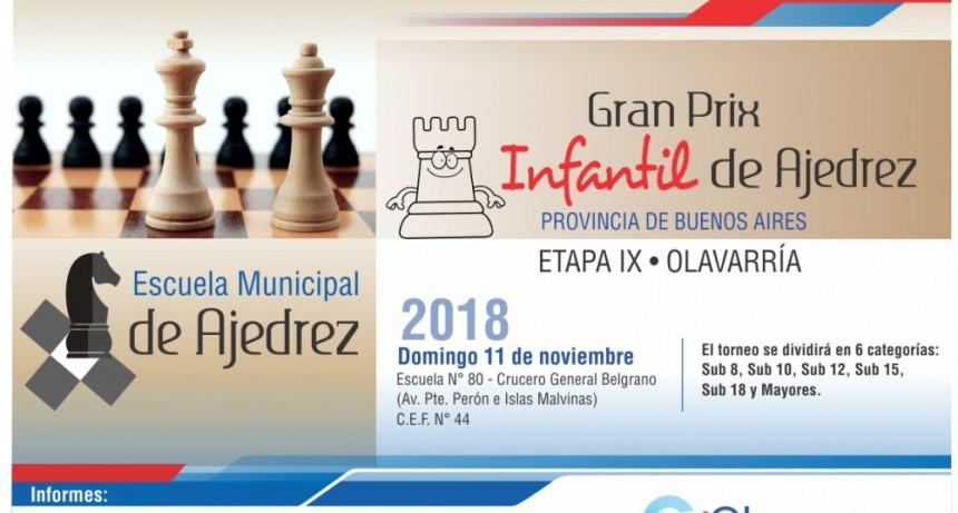 Gran Prix Infantil de Ajedrez provincia de Buenos Aires