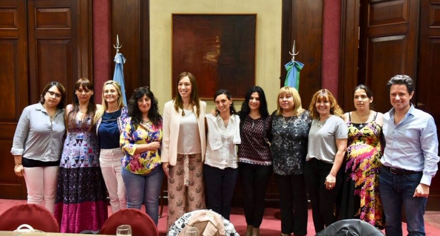 Las maestras de Mapis se reunieron con la gobernadora