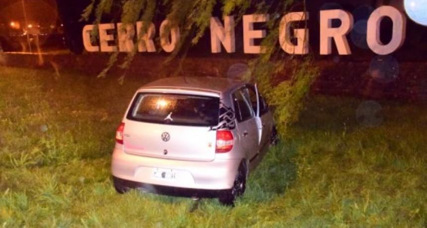 Falleció el herido tras chocar en la rotonda de Cerro Negro