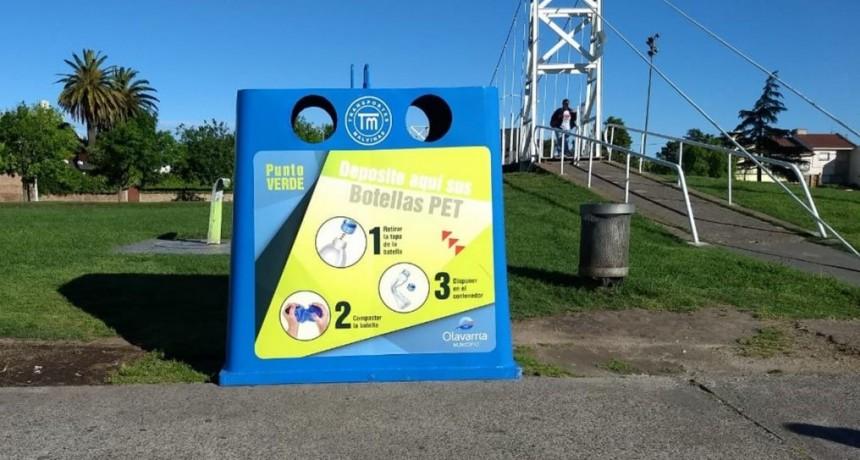 Nuevos Puntos Verdes para contribuir al reciclado de residuos