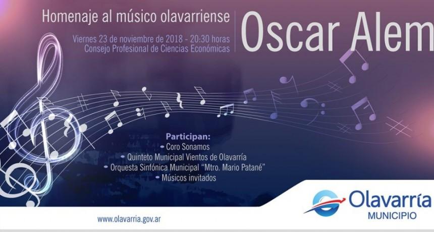 Concierto homenaje a Oscar Alem