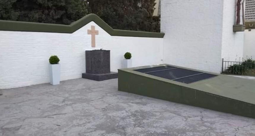 La Capilla Santa Elena de Loma Negra inaugura un cinerario