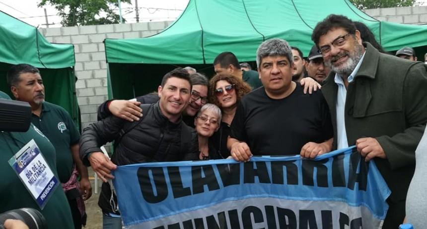 Municipales de Olavarría en el día del militante