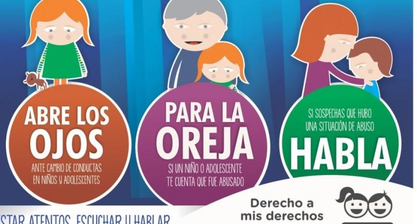 El Municipio impulsa una campaña urbana de prevención del abuso infantil
