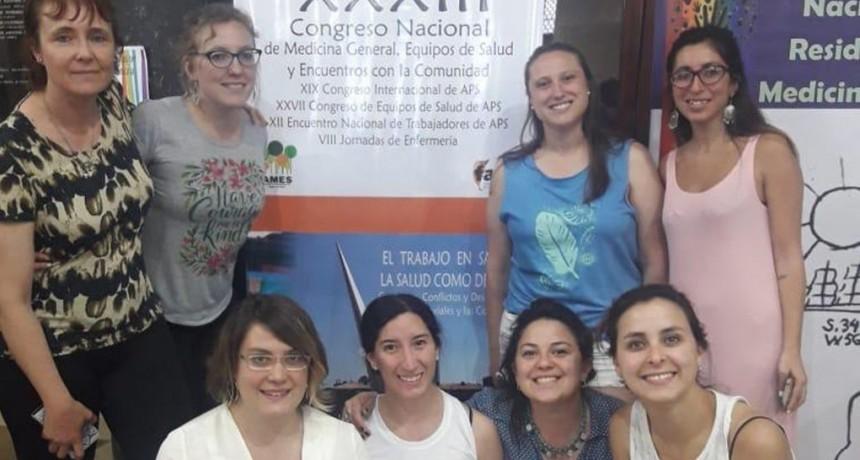 Residentes de Olavarría premiados en el XXXIII Congreso Nacional de Medicina General