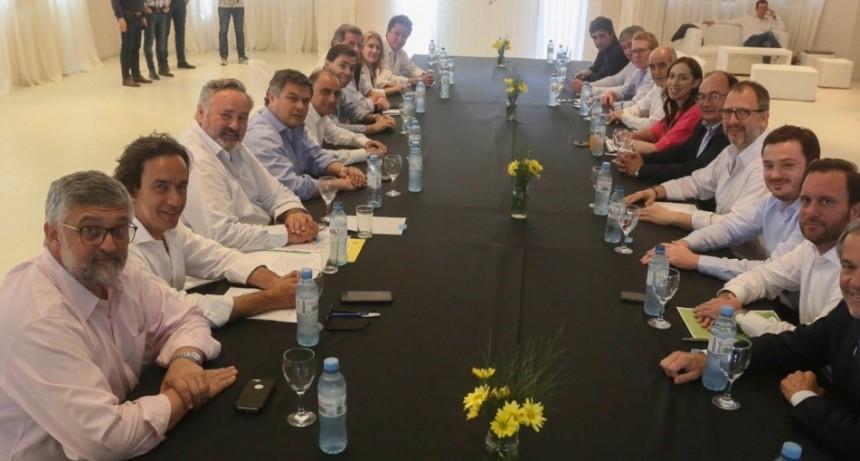 Saladillo: Lordén junto a Salomón, acompañaron a Vidal en la reunión de Gabinete