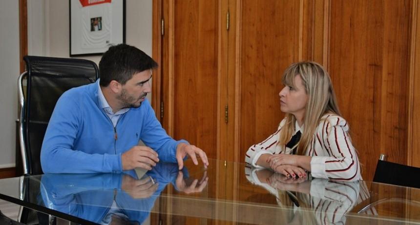 El intendente Ezequiel Galli recibió a la subsecretaria de Turismo bonaerense Martina Pikielny