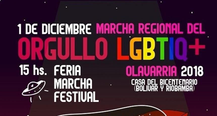 Marcha regional del orgullo lgbtiq+ Olavarría 2018