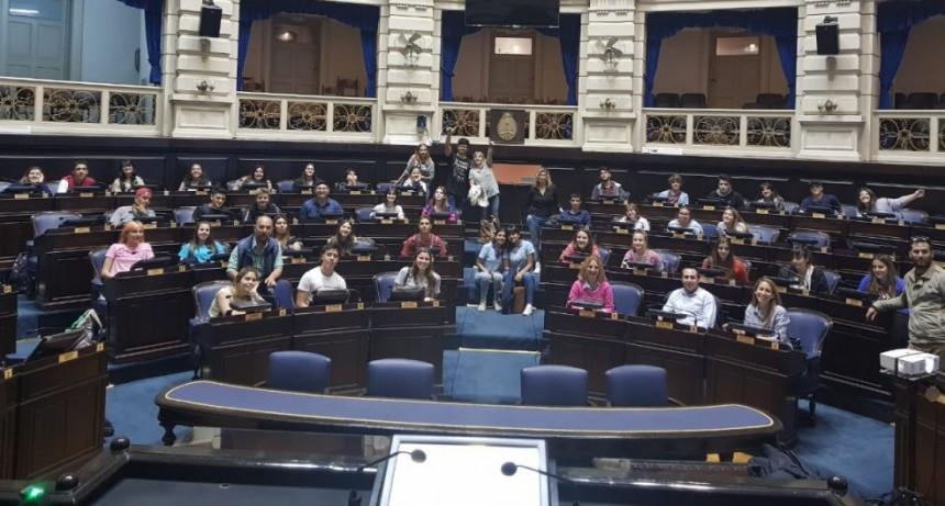 Concejales estudiantiles realizaron un viaje educativo a La Plata