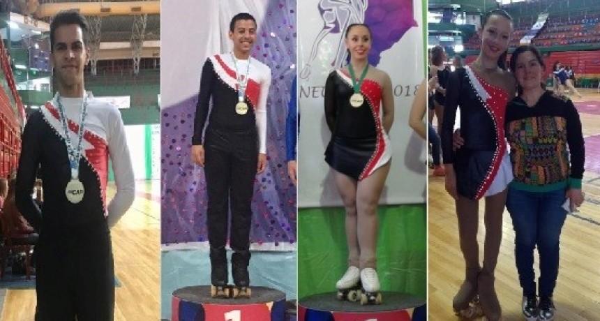 Patín: Boca brilló en el Campeonato Argentino de Danza.
