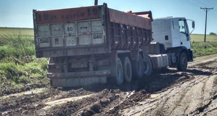 Infracciones a la prohibición de circular por caminos rurales tras la lluvia
