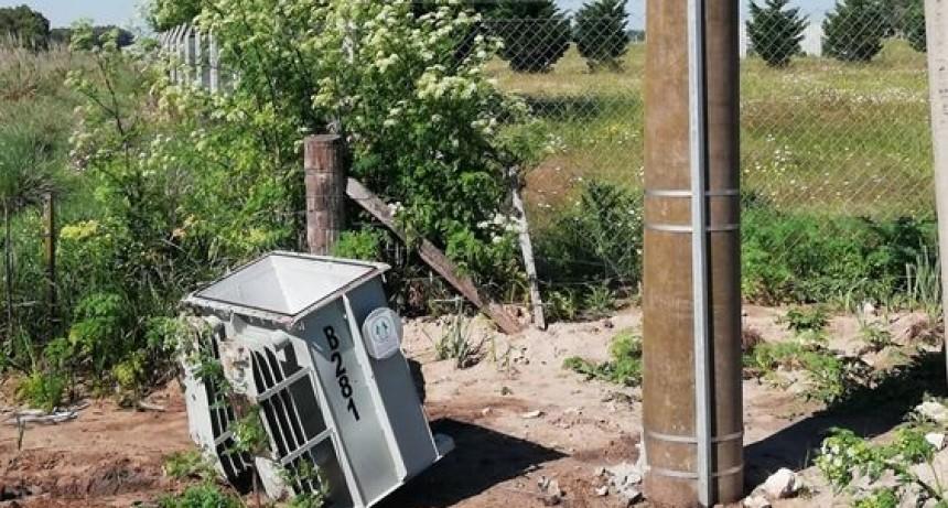 Coopelectric denunció el robo de un transformador