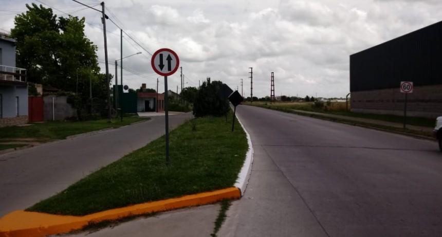 Control Urbano: demarcación vial, carteles nomencladores y señalización