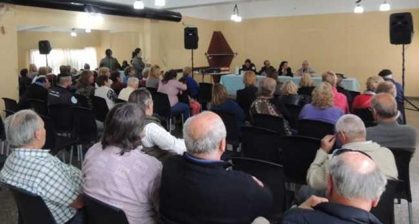 Comisión directiva del centro de jubilados municipales