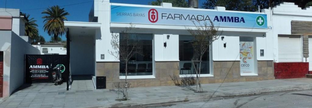 Reinauguran la farmacia del CECO en Sierras Bayas