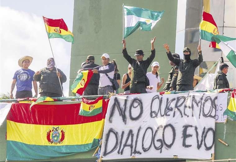 Bolivia III: 'Está ganando la agenda de la oposición política radical'