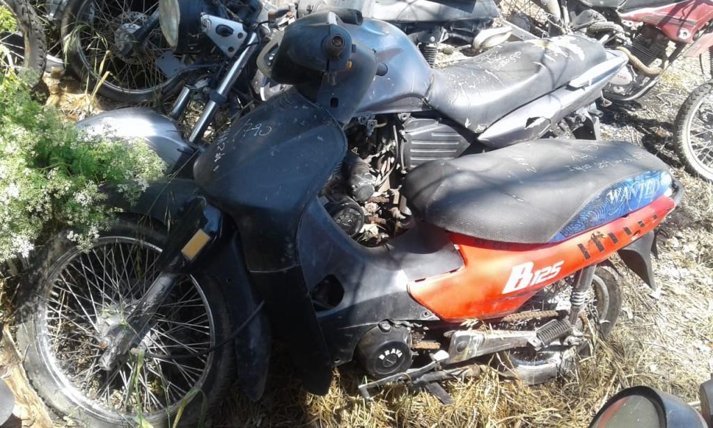 Recuperan una motocicleta