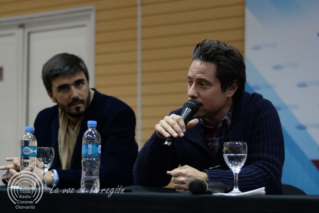 El Director General de Cultura y Educación llega a Olavarría