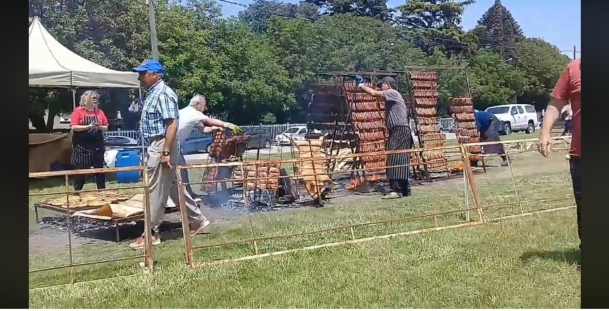 Más de 4 mil choripanes vendidos en la fiesta sierrabayense