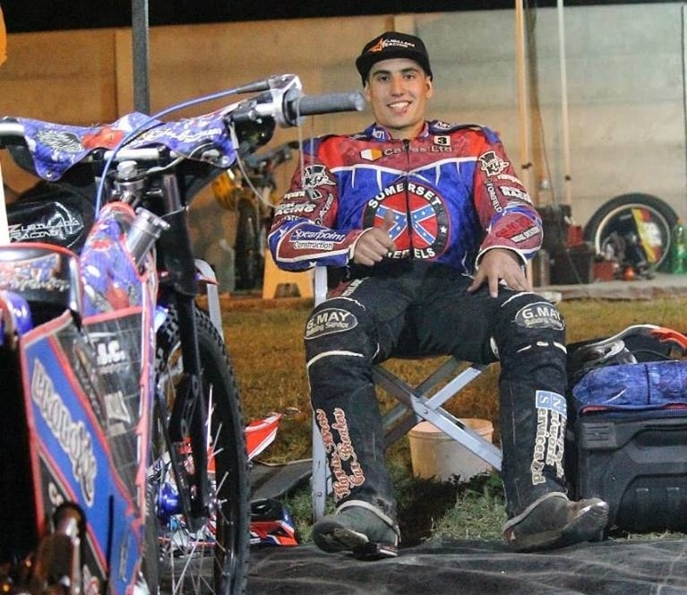 Cristian Zubillaga Campeón Argentino en Speedway