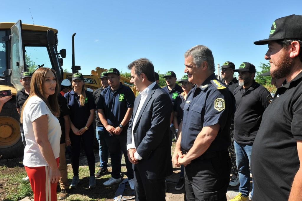 Vidal participó del derribo del búnker de droga n°150