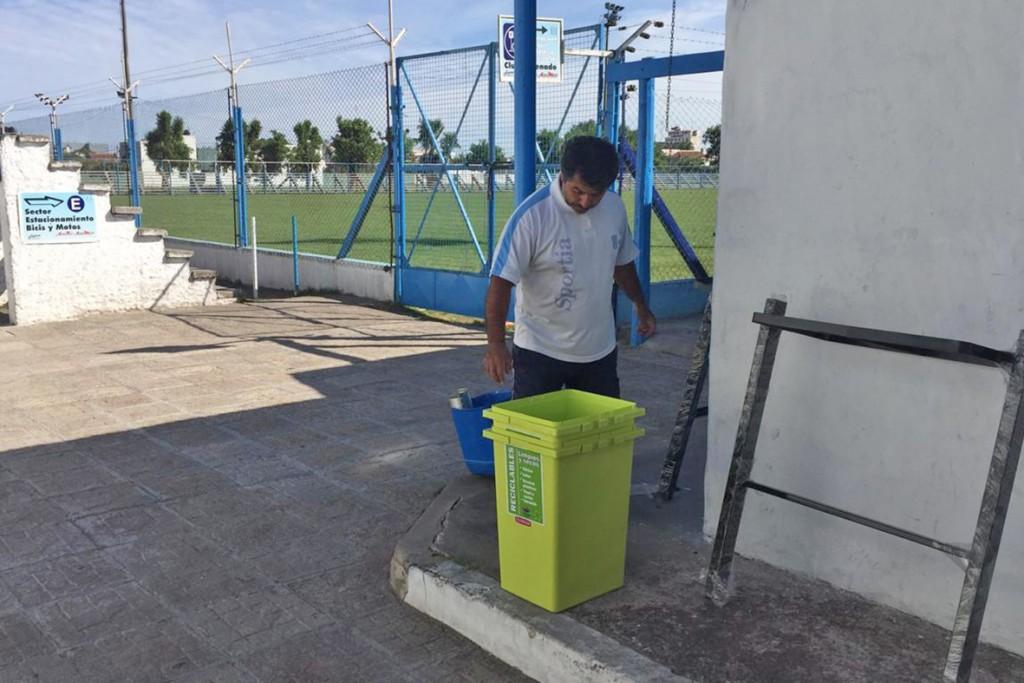 Municipio y clubes de Olavarría trabajan en conjunto para mejorar la sustentabilidad