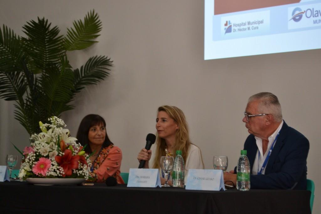 """Apertura de las VI Jornadas Regionales de Infectología """"Dra. Silvia González Ayala"""""""