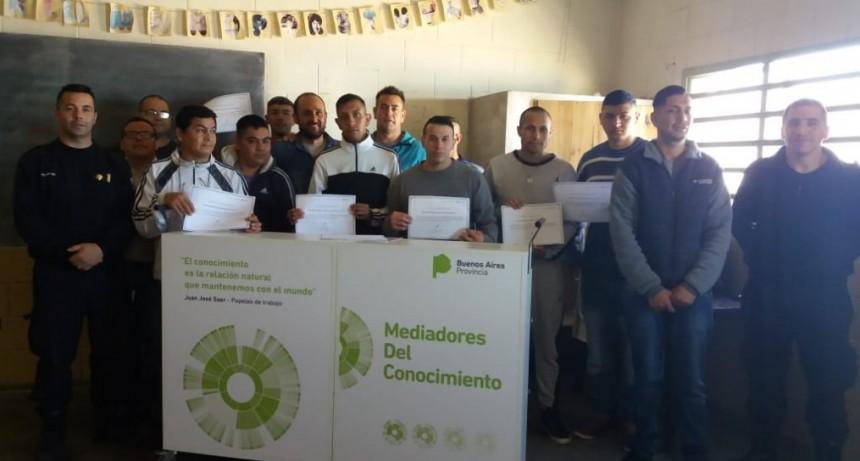 Finalizó el Programa de Capacitación de Mediadores del Conocimiento en cárceles de Sierra Chica