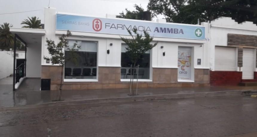 Reinauguración de la farmacia del CECO en Sierras Bayas
