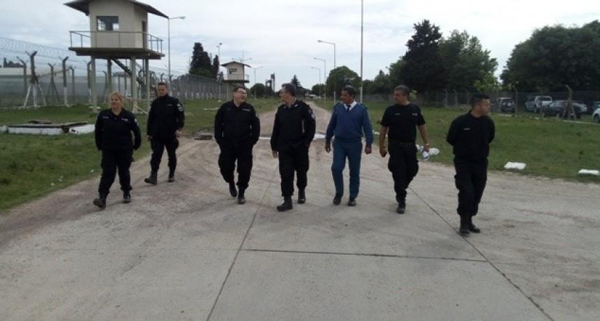 El Subjefe del Servicio Penitenciario Bonaerense visitó la Unidad 38