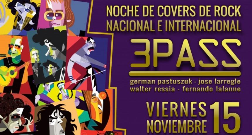 Noche de Covers de Rock Nacional e Internacional en la Biblioteca Collinet