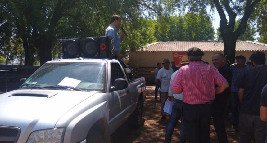 Remate en la Sociedad Rural de Olavarría