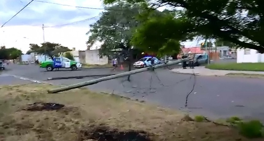 Tras una noche de trabajo, repusieron el servicio eléctrico en el Barrio PyM