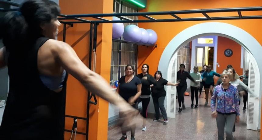 Propuestas del gimnasio funcional del Centro Empleados de Comercio