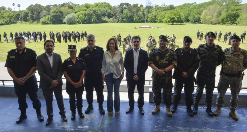 Vidal se reunió con integrantes de los grupos especiales de la policía de la provincia