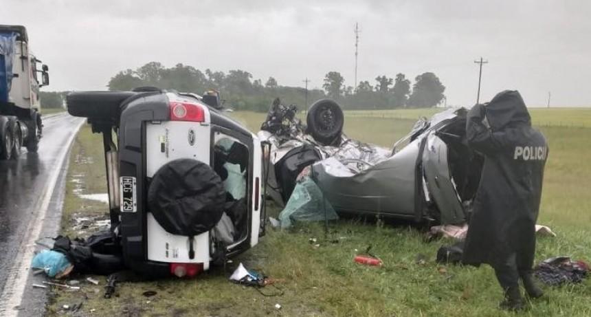 Ruta 3: otras dos personas fallecidas por hecho de tránsito