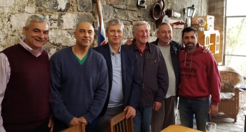 El embajador de Eslovaquia visita Olavarría