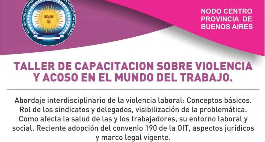 Taller de capacitación de la Red Nacional Intersindical contra la Violencia Laboral