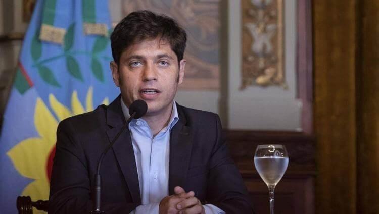 El gobernador Axel Kicillof detalló cómo será la nueva fase de distanciamiento