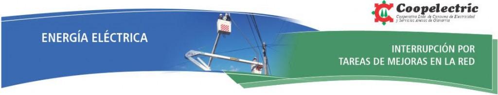 Coopelectric programa interrupción de suministro eléctrico en Loma Negra