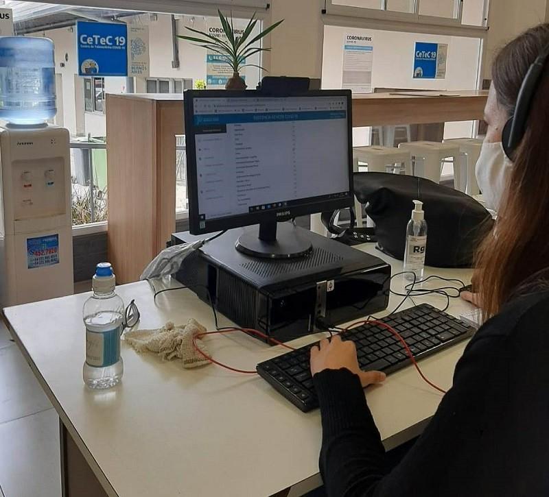 La provincia montó un centro de telemedicina que atendió más de 217 mil consultas por covid-19