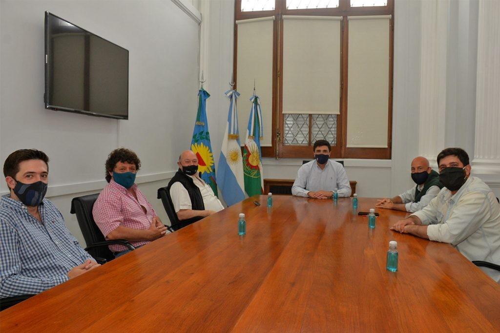 Ezequiel Galli se reunió con representantes de la Unión de Clubes