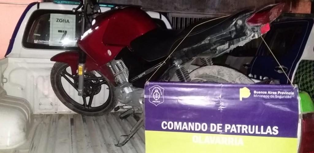 Secuestraron una moto por maniobras peligrosas y no tener papeles