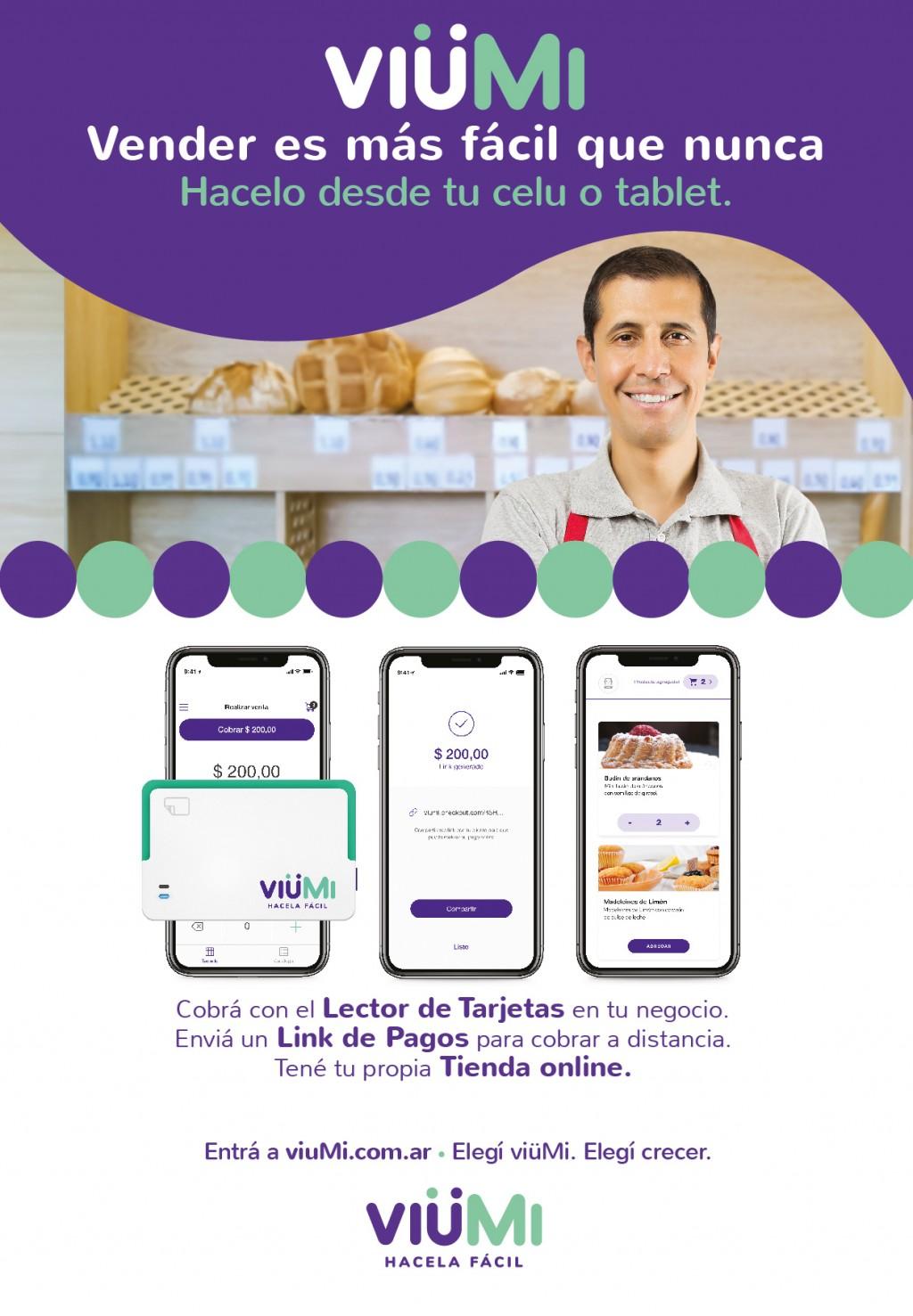 Banco Macro presenta VIÜMI: vender es más facil que nunca
