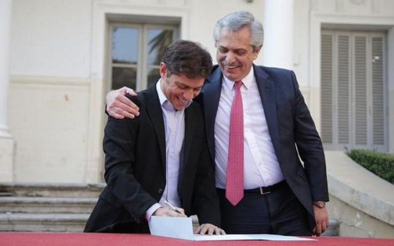 El presidente y el gobernador, juntos en Olavarría